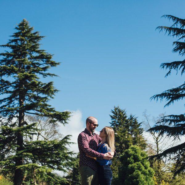 Sam & Jen's Ness Gardens Pre-Wedding Shoot - The Struths, Liverpool Wedding Photographers