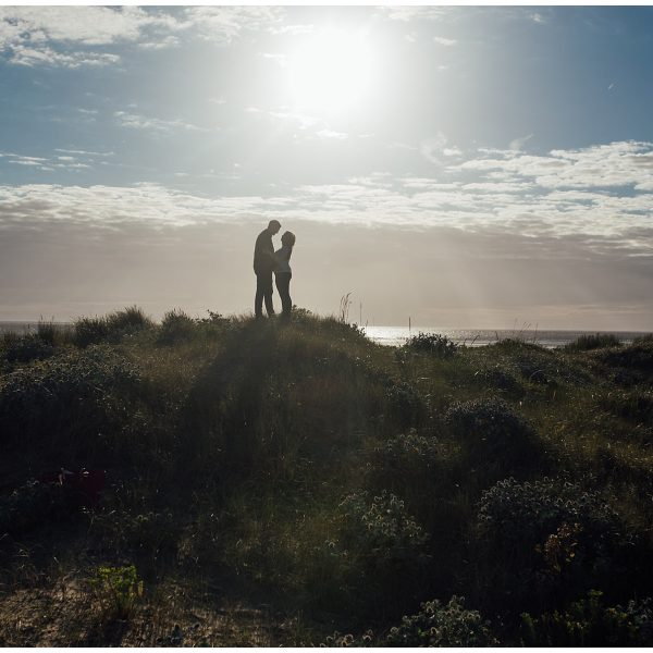 Catherine & Joe's Pre-Wedding Shoot, Crosby Beach - The Struths, Liverpool Wedding Photographers