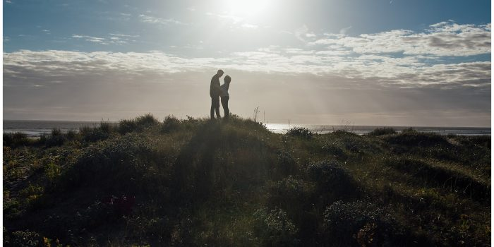 Catherine & Joe's Pre-Wedding Shoot, Crosby Beach - The Struths, Liverpool Wedding Photographers