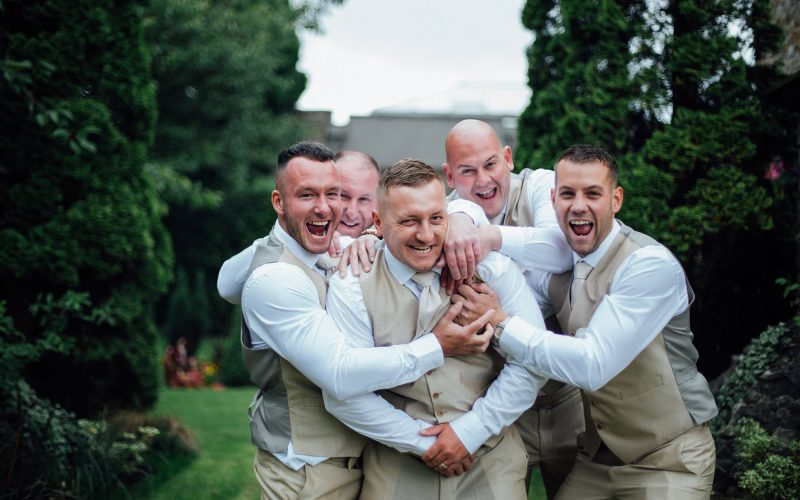 The Boys! - Groom & Groomsmen Portraits