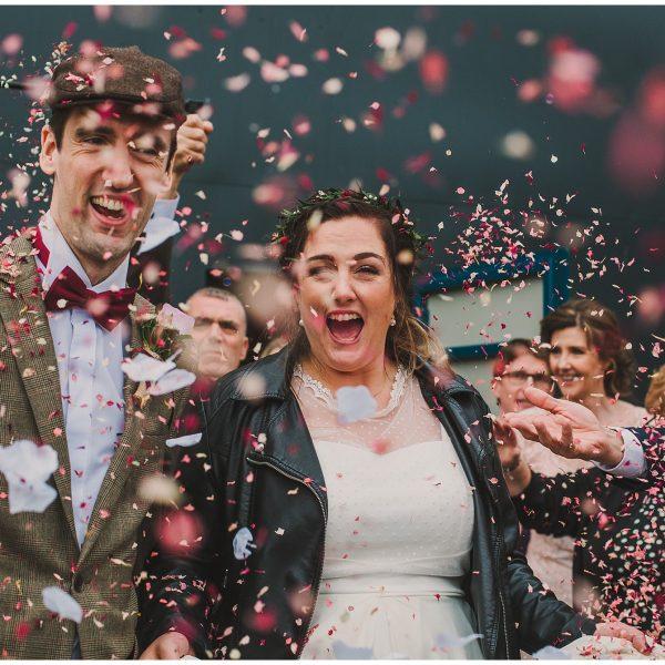 Amber & Dean | Thornsett Fields Farm Wedding