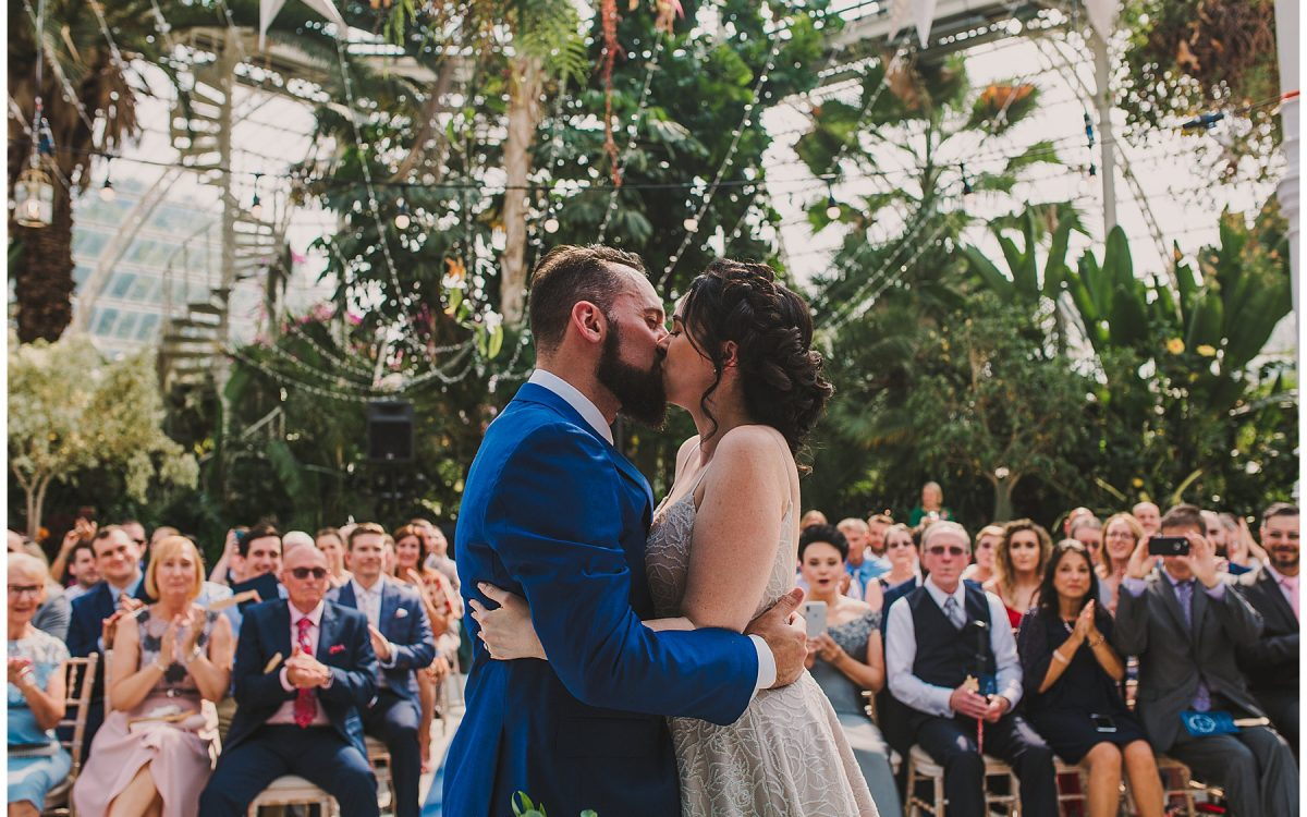 Sefton Palm House Wedding